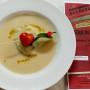 07 Raviolo (pelmeni russi) di erbetta con crema di fagioli